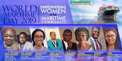 WORLD MARITIME DAY 2019 NIGERIA + TEACHINGS ON THE IMPORT AND EXPORT TRADE