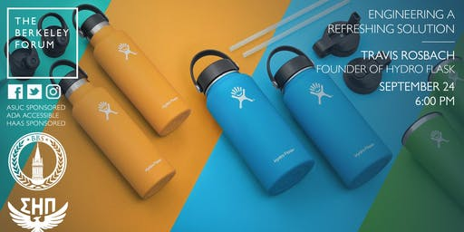 Hydro Flask Co-Founder Travis Rosbach at the Berkeley Forum