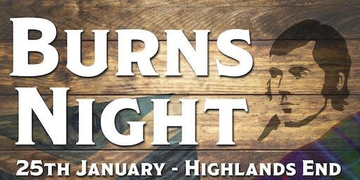 Bridport Round Table Burns Night