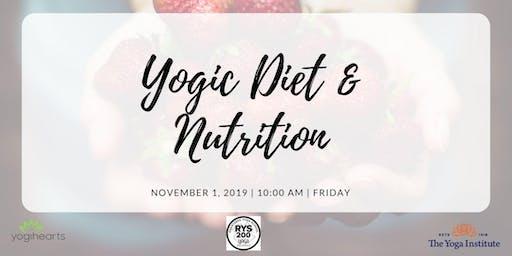 Yogic Diet & Nutrition