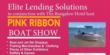 Elite Lending Solutions Pink Ribbon Boat Show