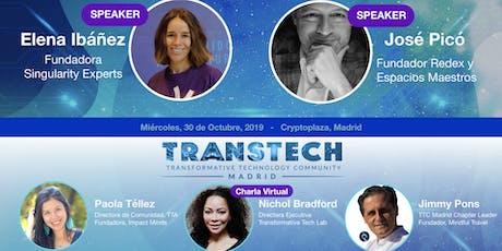 Transformative Tech Madrid: Espacios, Tecnología y Creatividad  entradas