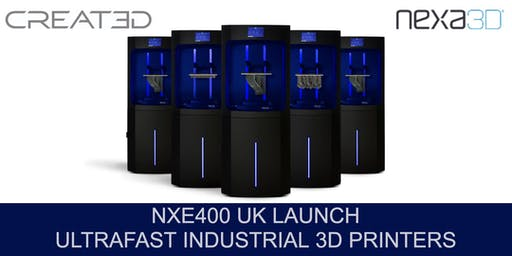 Nexa3D UK Launch - Ultrafast 3D Printing