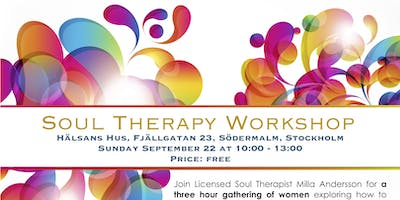 Soul Therapy Workshop, Stockholm, Sweden