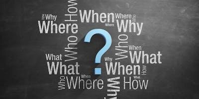 Question Forming Workshop (Beginners Lev. 2 -5)