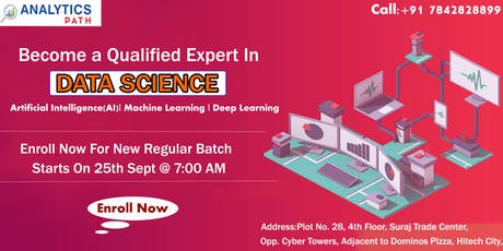 Grab the opportunity of enhancing your Data Science career skills. tickets