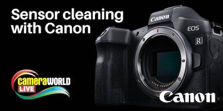 Canon Sensor Clean - CameraWorld Live 2019 tickets