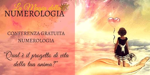Conferenza Gratuita Numerologia Parona Verona