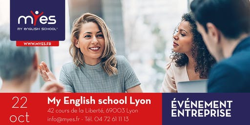 Evénément Entreprise: cocktails, networking and English workshop