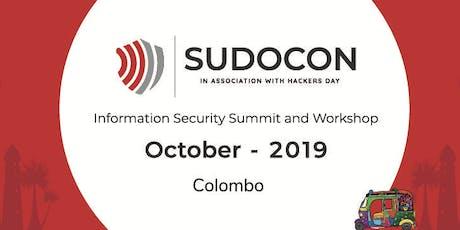 SudoCon : 2019 - Colombo tickets