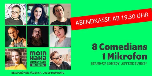 """Stand-Up-Comedy """"Offene Bühne"""""""