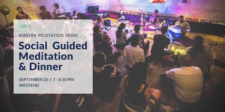 Social Guided Meditation & Dinner West End, 26th September tickets