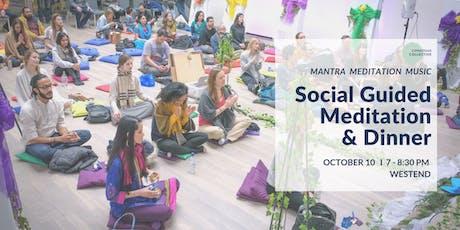 Social Guided Meditation & Dinner West End, 10th October tickets