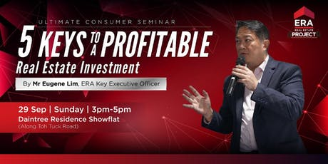 [Ultimate Consumer Seminar] 5 Keys To A Profitable Real Estate Investment tickets