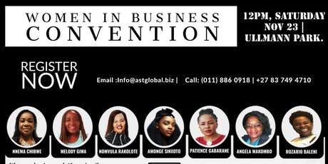 Women In Business Convention 2019 tickets