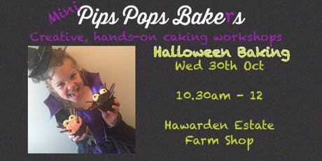Halloween Mini Pips Pops Bakers tickets