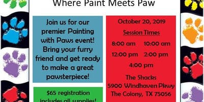 Painting with Paws