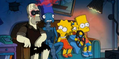 Learn English with TV series: The Simpsons (Halloween special!)