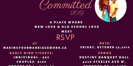 Committed 2019 tickets