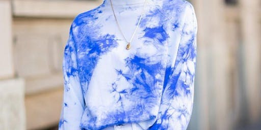 Easy tee tie-dye workshop