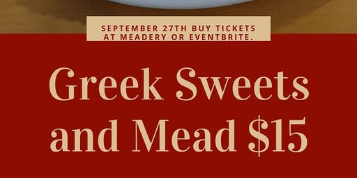 Greek Sweets and Mead Pairing