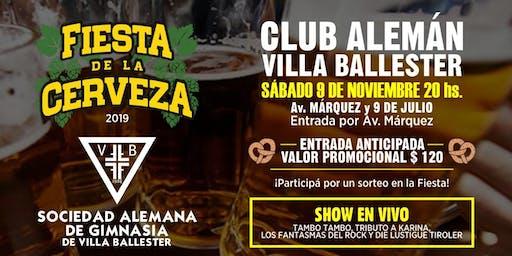Fiesta de la Cerveza 2019