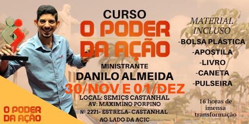 Curso O PODER DA AÇÃO Castanhal 30/NOV e 01/DEZ