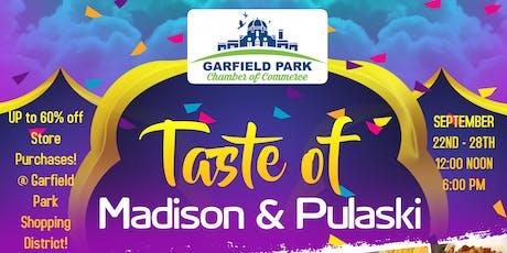 Taste of Madison and Pulaski tickets