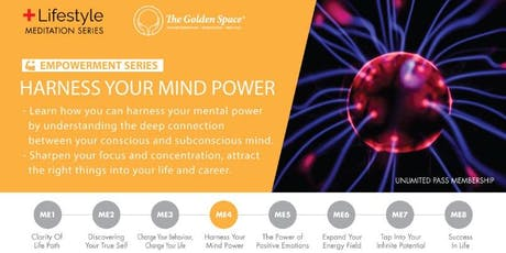 Harness your Mind Power tickets