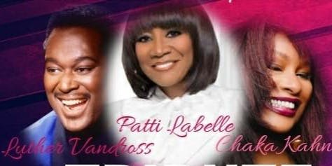 Patti Labelle, Chaka Kahn, and Luther Vandross Tribute