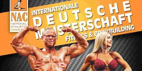 Internationale Deutsche Meisterschaft NAC Herbst 2019 Tickets