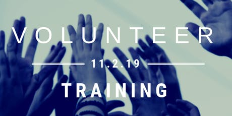 Out of Darkness Volunteer Training tickets