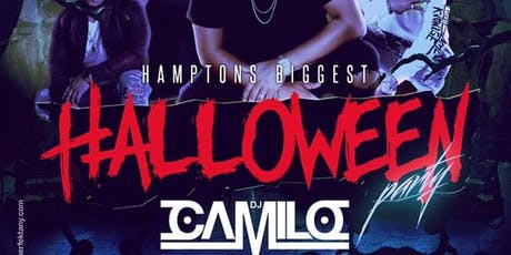 HAMPTONS BIGGEST HALLOWEEN PARTY WITH THE INTERNATIONAL CLUB KING DJ CAMILO tickets