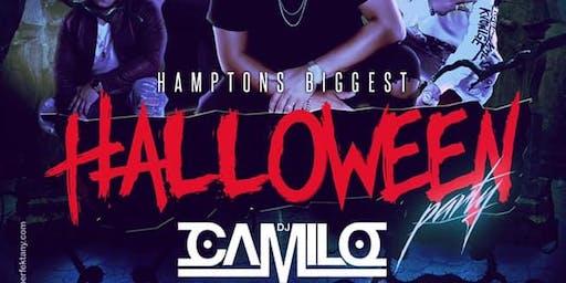 HAMPTONS BIGGEST HALLOWEEN PARTY WITH THE INTERNATIONAL CLUB KING DJ CAMILO