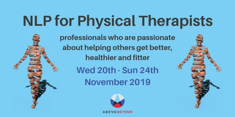 NEW! The Progressive Physio - NLP Practitioner for Physical Therapists  tickets