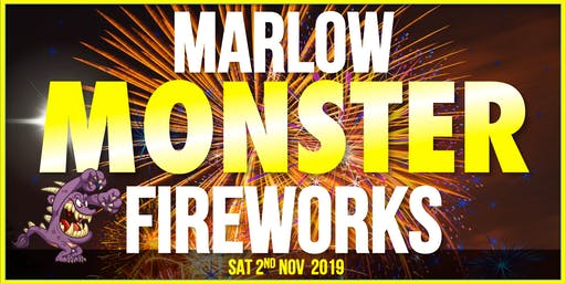 Marlow Monster Fireworks Show 2019