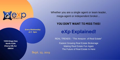 SJ eXp Realty Explained | Lunch and Learn tickets