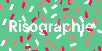 Make your own risograph Christmas cards