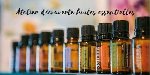 Atelier portant sur la santé au naturel avec les huiles essentielles