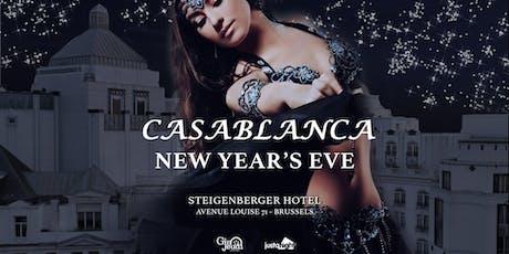 NYE Casablanca Gala Dinner & Party ஜ Steigenberger Wiltcher's tickets