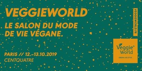 VeggieWorld Paris billets