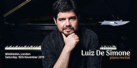 Luiz De Simone piano recital – La Liberté tickets
