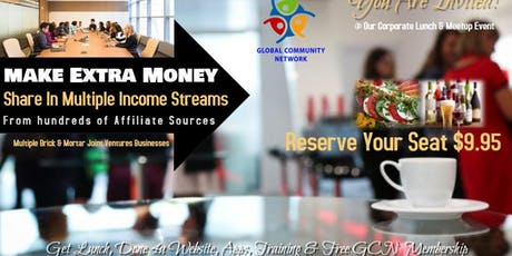 Entrepreneurs For Extra Income Networking & Luncheon  tickets
