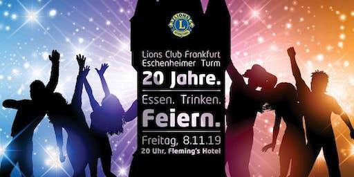 20 Jahre Lions Club Frankfurt Eschenheimer Turm