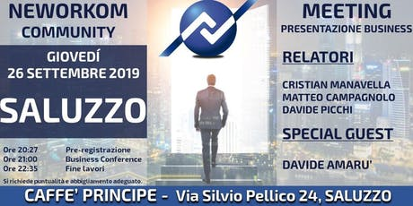 MEETING PRESENTAZIONE BUSINESS NEWORKOM biglietti