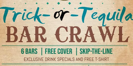 Trick or Tequila- Morgantown Halloween Bar Crawl