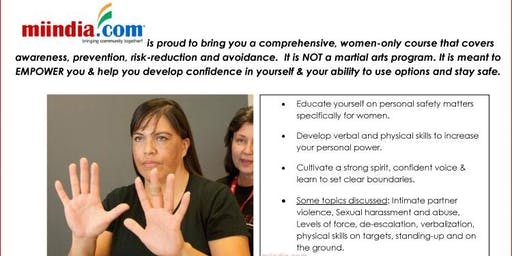 Safety Awareness & Self-Defense Program For Every Woman - FREE Event