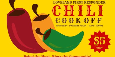 Loveland First Responders Chili Cook-off tickets