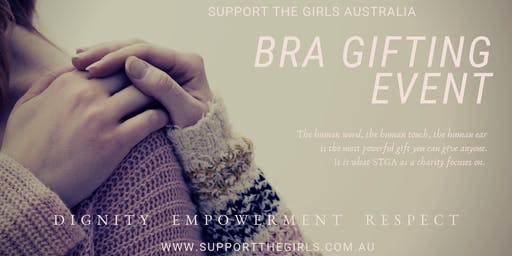 Support The Girls Australia Bra Gifting Day - Southport Community Centre