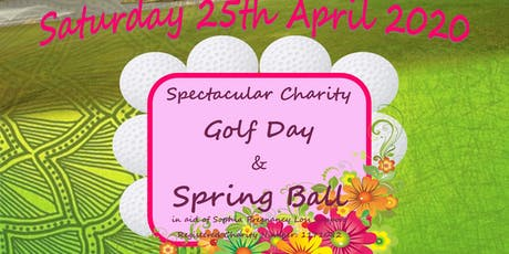 Charity Golf Day and Spring Ball tickets